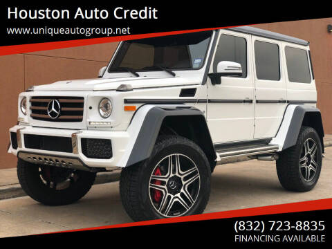 2018 Mercedes-Benz G-Class for sale at Houston Auto Credit in Houston TX