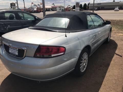 2002 Chrysler Sebring for sale at BARNES AUTO SALES in Mandan ND