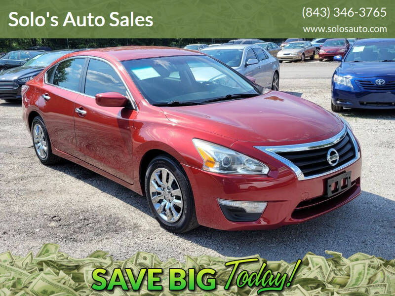 2014 Nissan Altima for sale at Solo's Auto Sales in Timmonsville SC