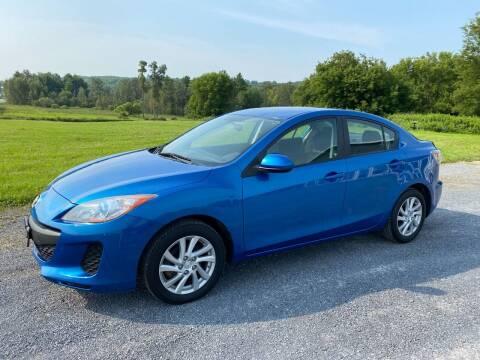 2012 Mazda MAZDA3 for sale at Riverside Motors in Glenfield NY