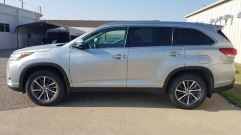 2019 Toyota Highlander for sale at S & S Sports and Imports in Newton KS