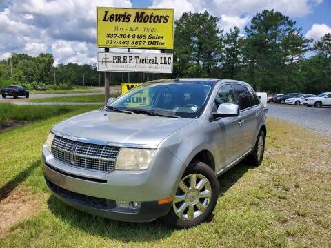 2007 Lincoln MKX for sale at Lewis Motors LLC in Deridder LA