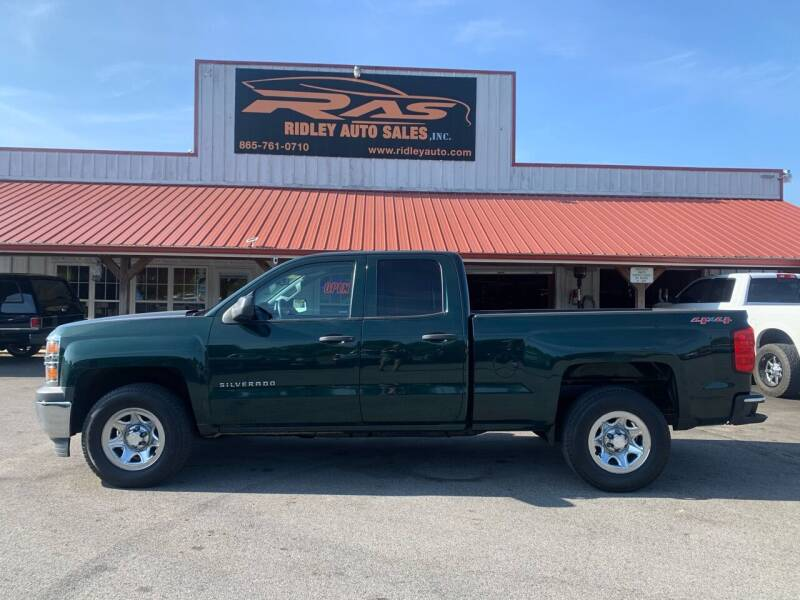 2015 Chevrolet Silverado 1500 for sale at Ridley Auto Sales, Inc. in White Pine TN