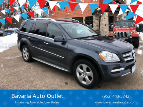 2012 Mercedes-Benz GL-Class for sale at Bavaria Auto Outlet in Victoria MN