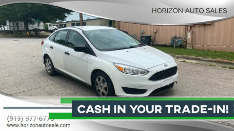 2017 Ford Focus for sale at Horizon Auto Sales in Raleigh NC
