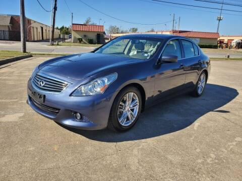 2011 Infiniti G37 Sedan for sale at A & J Enterprises in Dallas TX