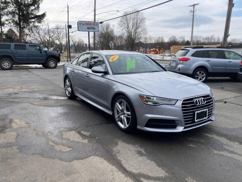 2017 Audi A6 for sale at JERRY SIMON AUTO SALES in Cambridge NY