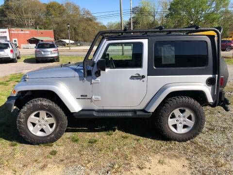 2009 Jeep Wrangler for sale at Premium Auto Sales in Fuquay Varina NC