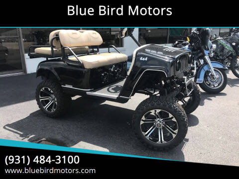 2010 E-Z-GO CART for sale at Blue Bird Motors in Crossville TN