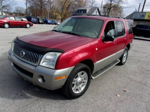 2003 Mercury Mountaineer for sale at Car Credit Auto Sales in Terre Haute IN