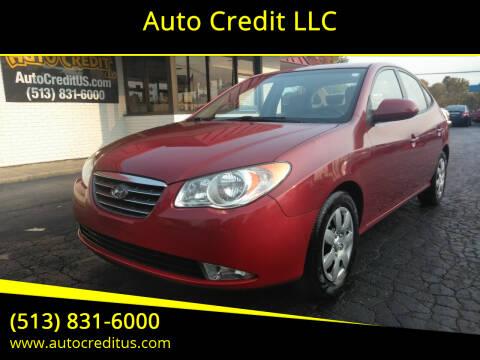 2009 Hyundai Elantra for sale at Auto Credit LLC in Milford OH