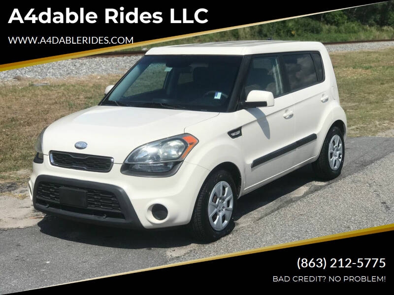 2013 Kia Soul for sale at A4dable Rides LLC in Haines City FL