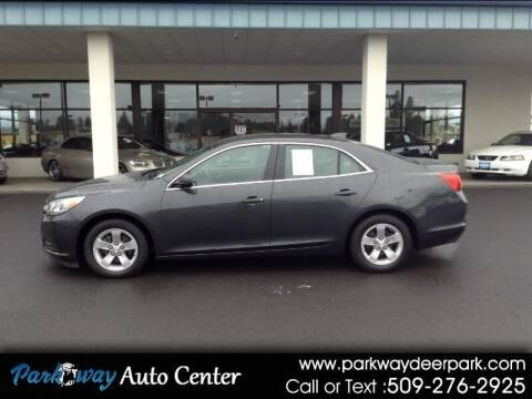 2015 Chevrolet Malibu for sale at PARKWAY AUTO CENTER AND RV in Deer Park WA