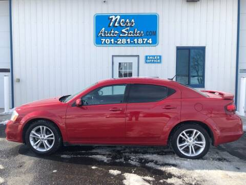 2011 Dodge Avenger for sale at NESS AUTO SALES in West Fargo ND