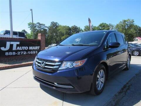 2014 Honda Odyssey for sale at J T Auto Group in Sanford NC