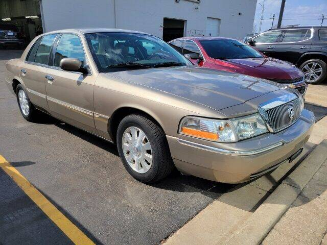 2003 Mercury Grand Marquis for sale at Rizza Buick GMC Cadillac in Tinley Park IL
