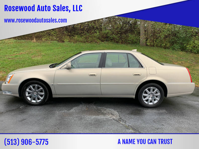 2009 Cadillac DTS for sale at Rosewood Auto Sales, LLC in Hamilton OH