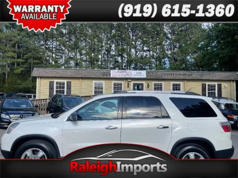 2012 GMC Acadia for sale at Raleigh Imports in Raleigh NC