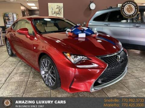 2017 Lexus RC 200t for sale at Amazing Luxury Cars in Snellville GA