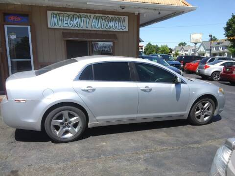 2010 Chevrolet Malibu for sale at Integrity Automall in Tiffin OH