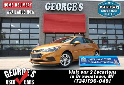 2017 Chevrolet Cruze for sale at George's Used Cars - Pennsylvania & Allen in Brownstown MI
