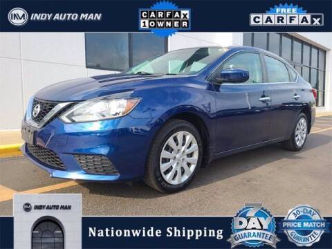 2017 Nissan Sentra for sale at INDY AUTO MAN in Indianapolis IN