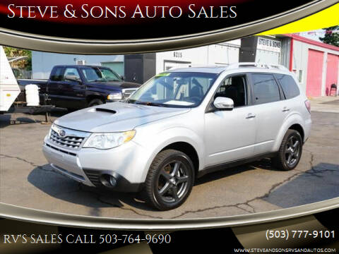 2011 Subaru Forester for sale at Steve & Sons Auto Sales in Happy Valley OR