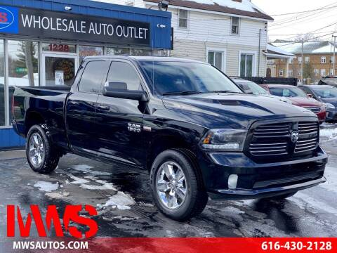 2015 RAM Ram Pickup 1500 for sale at MWS Wholesale  Auto Outlet in Grand Rapids MI