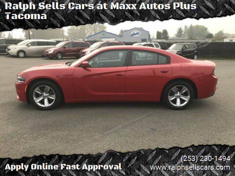2016 Dodge Charger for sale at Ralph Sells Cars at Maxx Autos Plus Tacoma in Tacoma WA