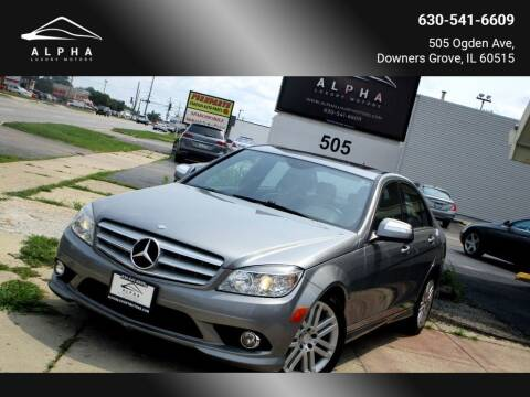 2008 Mercedes-Benz C-Class for sale at Alpha Luxury Motors in Downers Grove IL