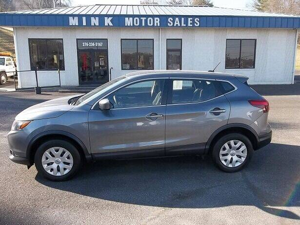 2019 Nissan Rogue Sport for sale at MINK MOTOR SALES INC in Galax VA