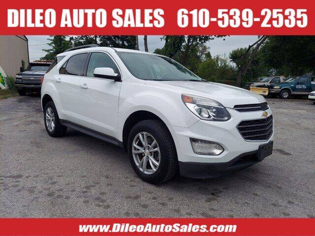 2016 Chevrolet Equinox for sale at Dileo Auto Sales in Norristown PA