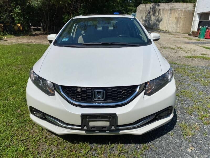 2015 Honda Civic for sale at Gaybrook Garage in Essex MA