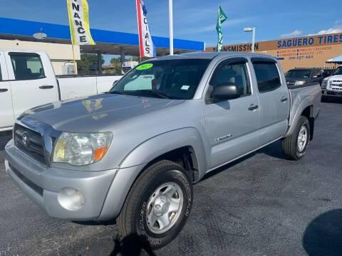 2007 Toyota Tacoma for sale at Navarro Auto Motors in Hialeah FL