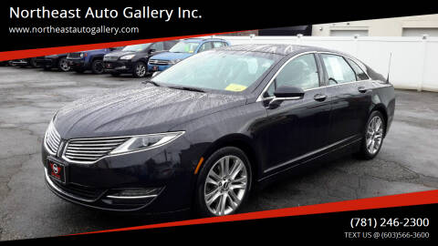 2013 Lincoln MKZ for sale at Northeast Auto Gallery Inc. in Wakefield Ma MA