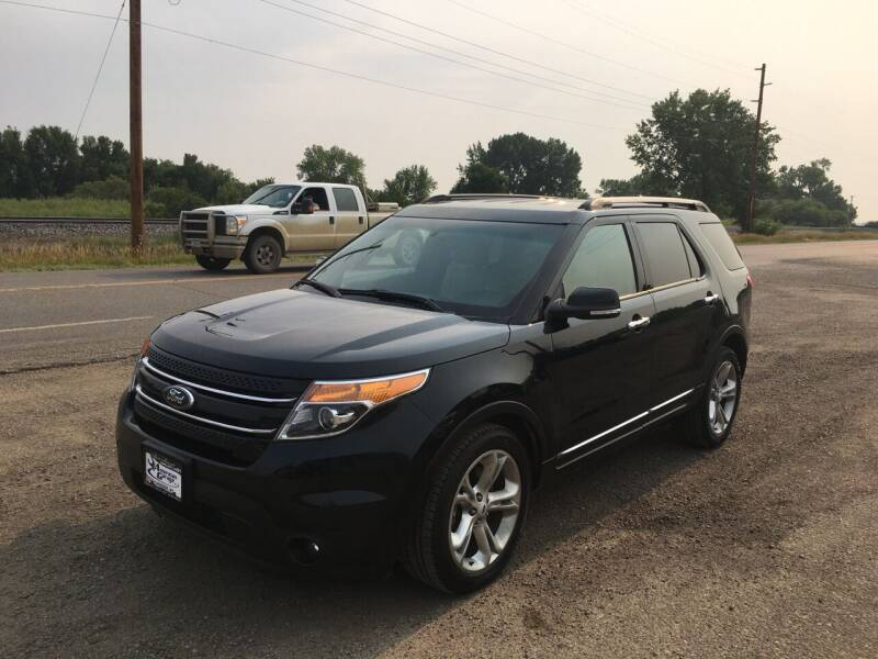 2014 Ford Explorer for sale at American Garage in Chinook MT