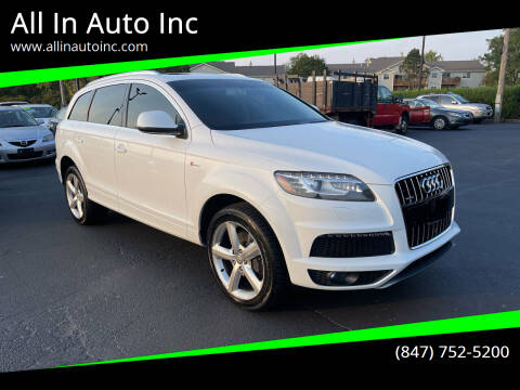 2015 Audi Q7 for sale at All In Auto Inc in Palatine IL