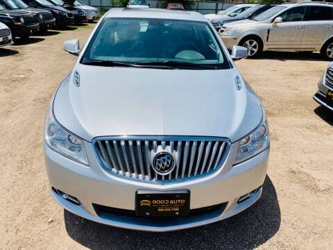 2012 Buick LaCrosse for sale at Good Auto Company LLC in Lubbock TX