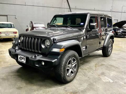 2018 Jeep Wrangler Unlimited for sale at EA Motorgroup in Austin TX