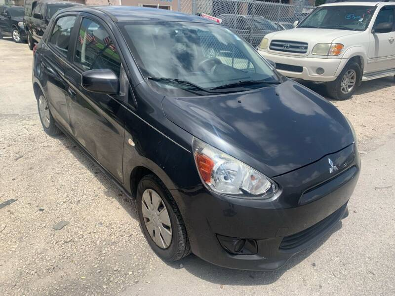 2015 Mitsubishi Mirage for sale at Eden Cars Inc in Hollywood FL