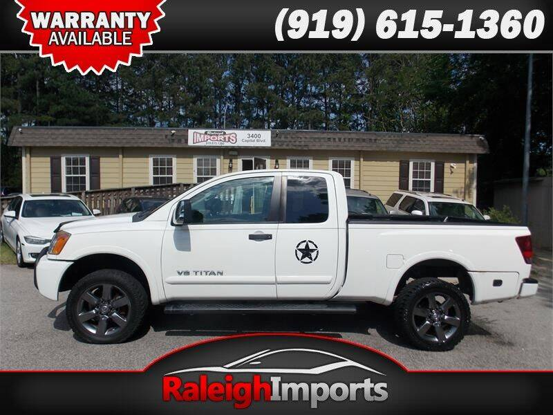 2012 Nissan Titan for sale at Raleigh Imports in Raleigh NC