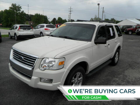 2010 Ford Explorer for sale at CARSON MOTORS in Cloverdale IN