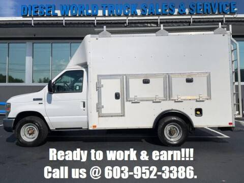 2015 Ford E-Series Chassis for sale at Diesel World Truck Sales in Plaistow NH