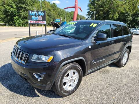 2014 Jeep Grand Cherokee for sale at Let's Go Auto in Florence SC