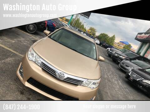 2012 Toyota Camry for sale at Washington Auto Group in Waukegan IL