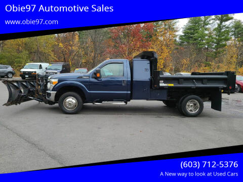 2013 Ford F-350 Super Duty for sale at Obie97 Automotive Sales in Londonderry NH