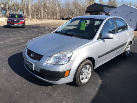 2008 Kia Rio for sale at Greg's Auto Sales in Searsport ME