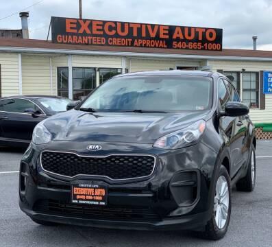 2017 Kia Sportage for sale at Executive Auto in Winchester VA