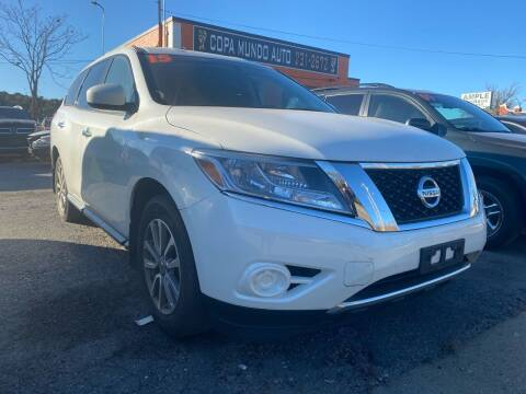 2015 Nissan Pathfinder for sale at Copa Mundo Auto in Richmond VA