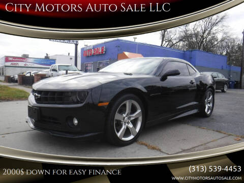 2012 Chevrolet Camaro for sale at City Motors Auto Sale LLC in Redford MI